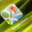 Google Maps Application — Stock Photo #47775507