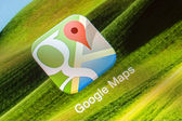 Google Maps Application — Stock Photo