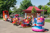 Small Children Playground Area — Stock Photo