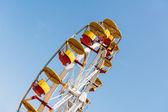 People Riding Giant Ferris Wheel — Stock Photo