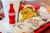 Kentucky Fried Chicken Restaurant Menu — Stock Photo