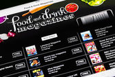 Food And Drink Magazines On iPad — Stock Photo