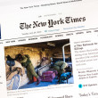 noviny new york times — Stock fotografie #48754695