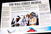 The Wall Street Journal Newspaper — Stock Photo