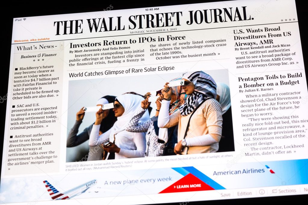 wall street journal summary Stay ahead of the competition with the app that's as ambitious as you are get the trusted insights and in-depth analysis you need from the wall street journal, america's most trusted newspaper—providing key decision-makers around the world with peerless reporting since 1889.