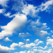 Blue sky with clouds - Stock fotografie
