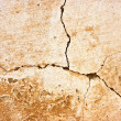 Cracked wall texture - Stock Photo