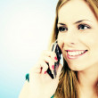 On the phone - Stock Photo