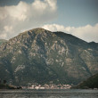 Beautiful view on Boka Kotorska bay. - Foto Stock