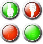 Like And Unlike Button — Vector de stock