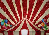 Vintage sirk çadırı kutlama — Stok Vektör