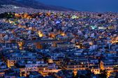 Athen by night — Stock Photo