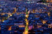 Nightlife Athens — Stock Photo
