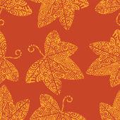 Tribal tattoo pattern. Ivy leaf — Wektor stockowy