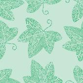 Tribal tattoo. Ivy leaf — Wektor stockowy
