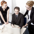 having a meeting business-team — Stockfoto