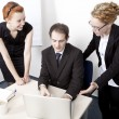 Business team having a meeting — Stock Photo #21003559