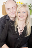 Attractive married couple — Stock Photo