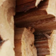 Stock Video: Firewood