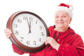 Stående äldre kvinna — Stockfoto