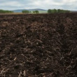 Plowed field, Motion controlled dolly, Time Lapse — Stock Video