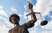 Statue of Justice — Stock Photo