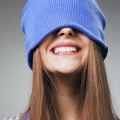 Winter smile — Stock Photo