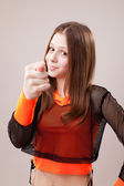 Fig, gesture of contempt — Stock Photo