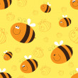 Bees — Stock Vector