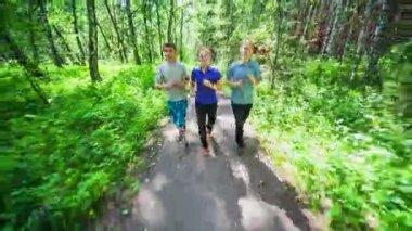 Jogging — Stock Video