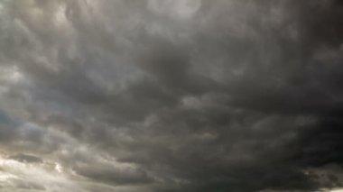 Dark Rain Clouds — Stock Video