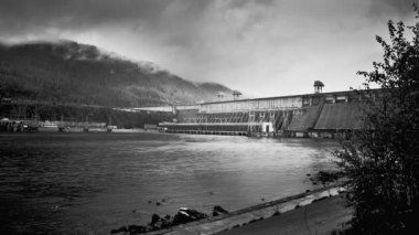 Hydroelectric Power Station — Stock Video