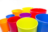 Colored container — Stock Photo