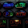 Neon Signboard — Stock Photo