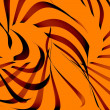 Abstract flame background - Foto Stock