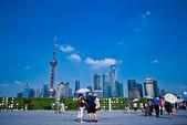 Shanghai Downtown — Stock Photo