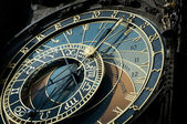 Astronomical clock, Prague, Sign of Zodiac — Foto Stock