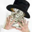 Royalty-Free Stock Photo: Magic money