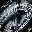 Astronomical clock, Prague, Sign of Zodiac — Stock Photo