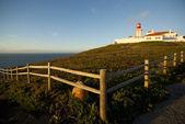 маяк кабу-да-рока, португалия — Стоковое фото