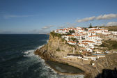 Beautyful fishing village by the ocean. — Stock Photo
