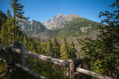View of Lomnica peak in High Tatra Mountains — Stock Photo