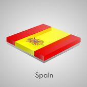 European flags set (glossy bricks) — Wektor stockowy