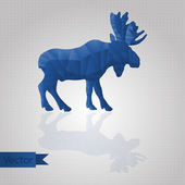 Abstrato animal triangular — Vetorial Stock