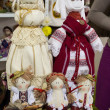 Collectible Ukrainian folk dolls — Stockfoto