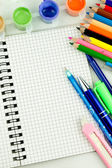 Stationery. Supplies for school. — Stock Photo