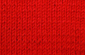 Red woolen texture — Stock Photo