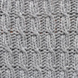 Grey woolen texture — Stock Photo