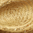 Thatch hat texture — Stock Photo