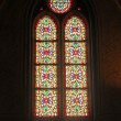 Stained-glass window in cathedral — Stock Photo #30306001